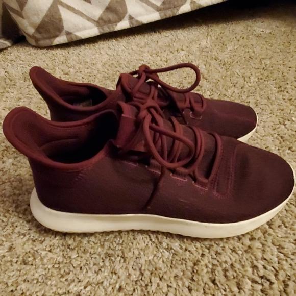 adidas Shoes | Burgundy Adidas Tennis